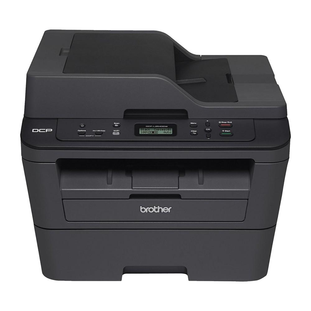 Best Home Office Laser Printer Copier Scanner: Brother DCP-L2540DW Wireless Monochrome Compact Laser